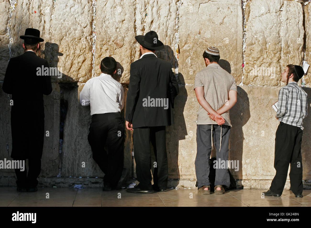 Credenza ebraicità ebraismo Immagini Stock