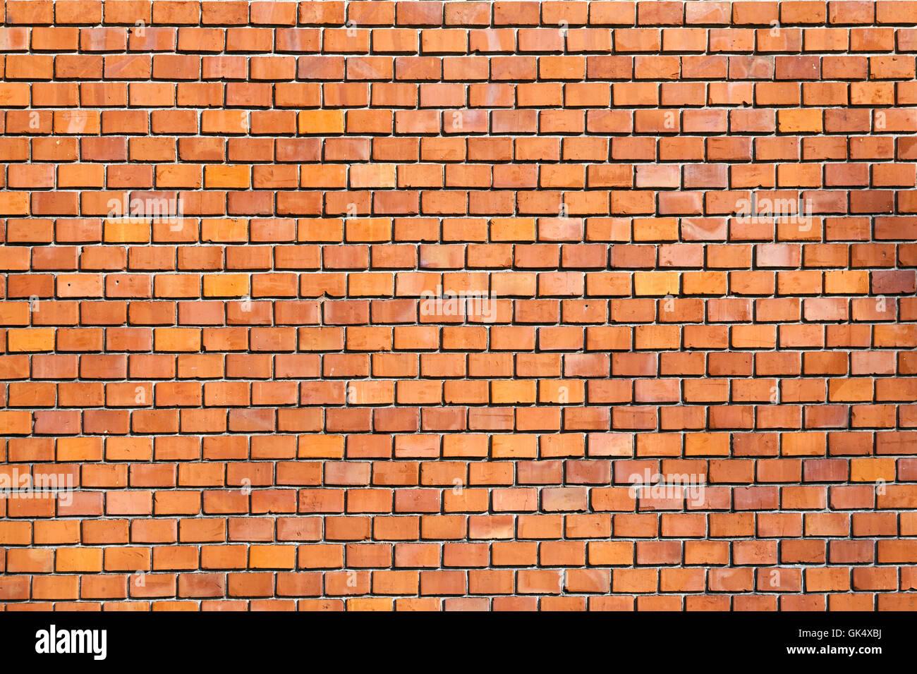 Muro di mattoni di pattern Immagini Stock
