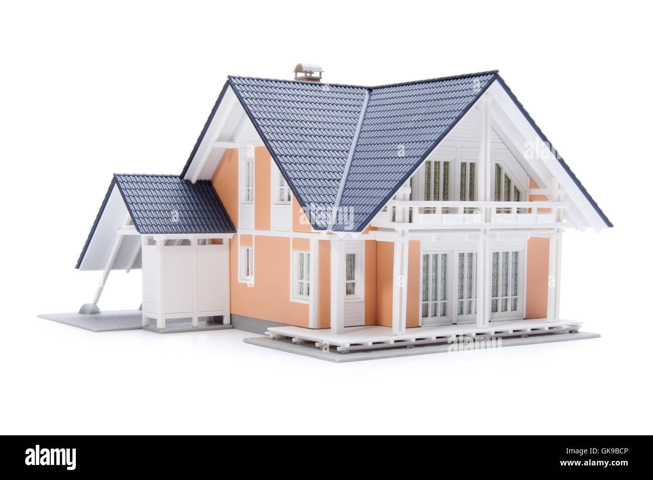 Costruzione casa di abitazione Immagini Stock