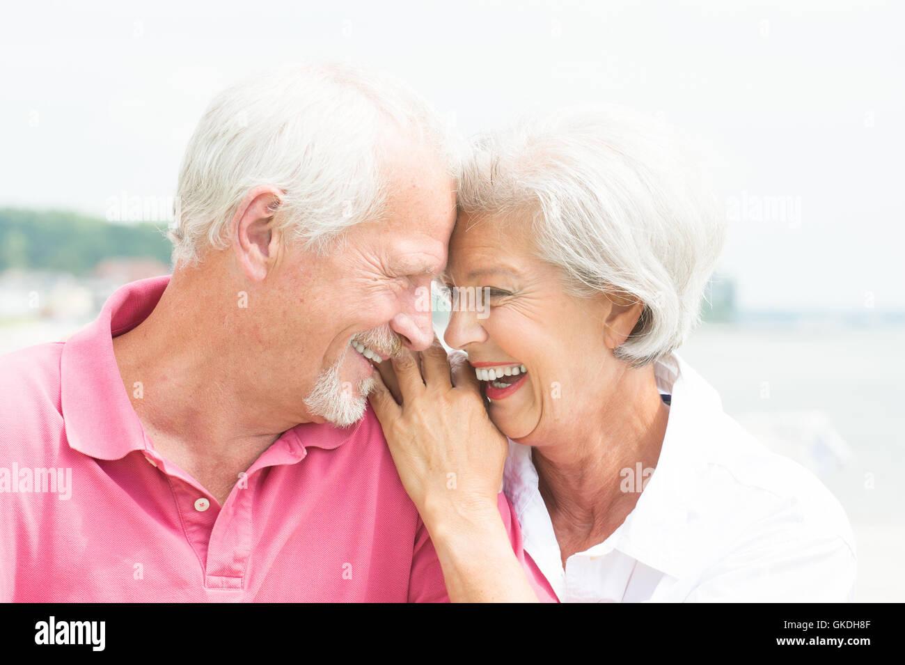 coppia senior Immagini Stock