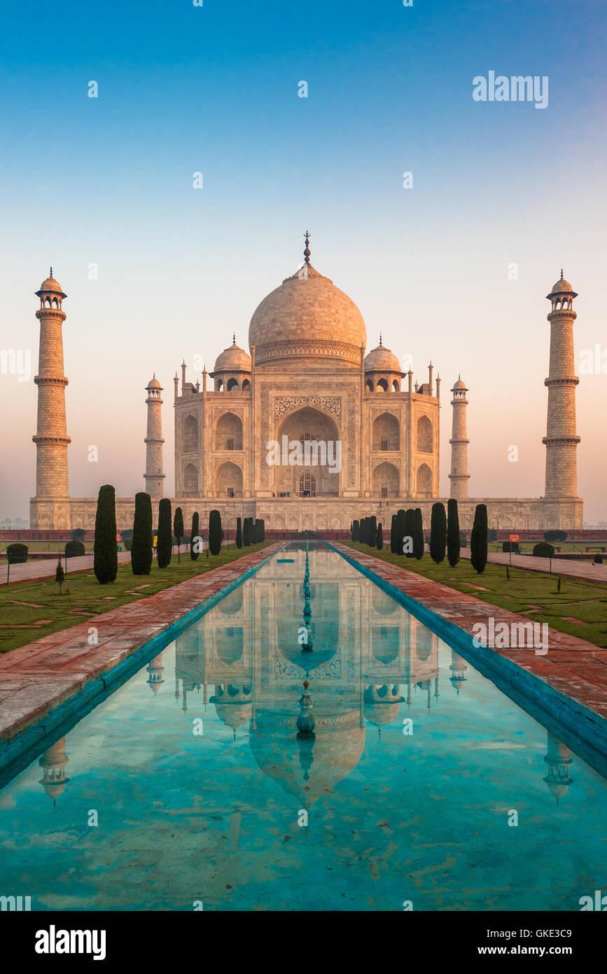 Taj Mahal, Agra, India Immagini Stock