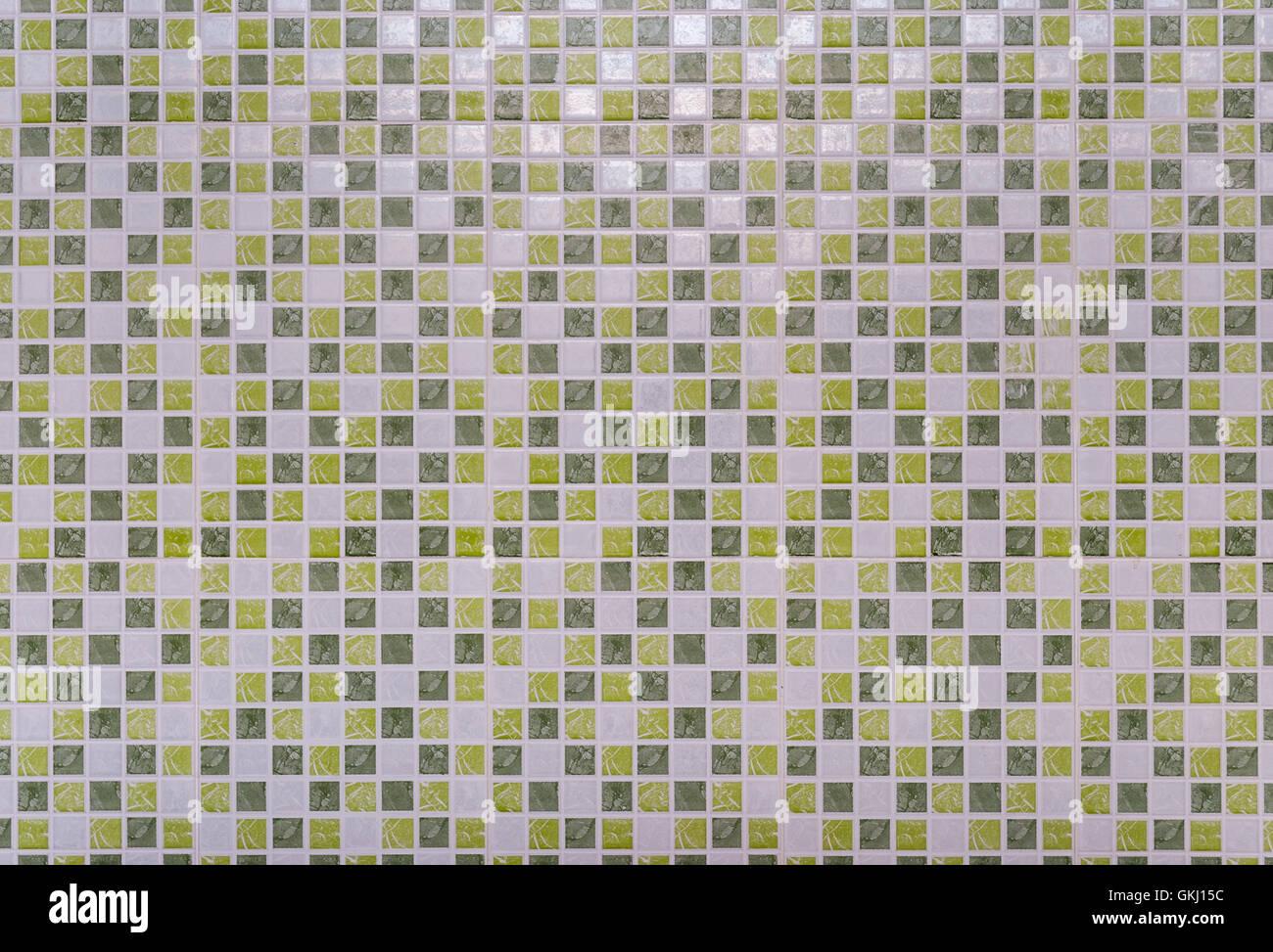 Quadrato verde sfondo piastrelle texture foto & immagine stock