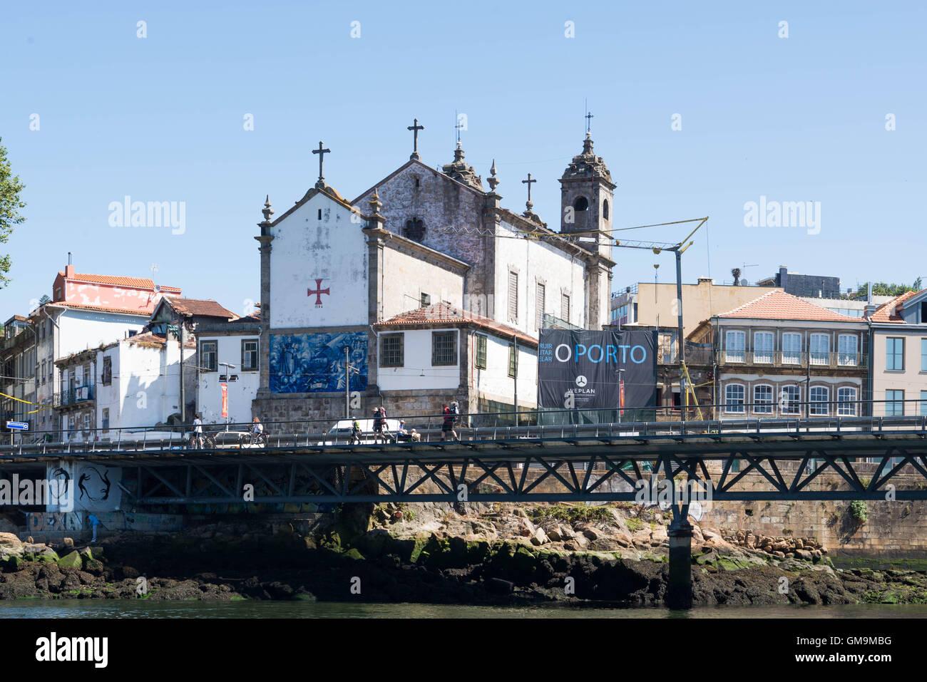 Igreja do Corpo Santo de Massarelos, Porto, Portogallo. Immagini Stock