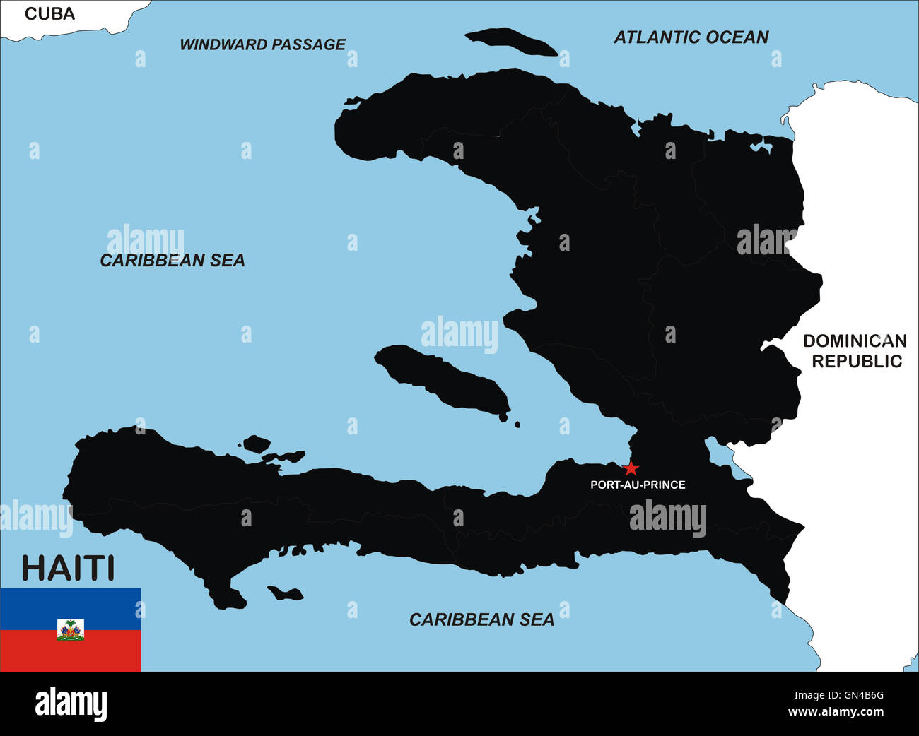 Cartina Geografica Haiti.Haiti Map Immagini E Fotos Stock Alamy