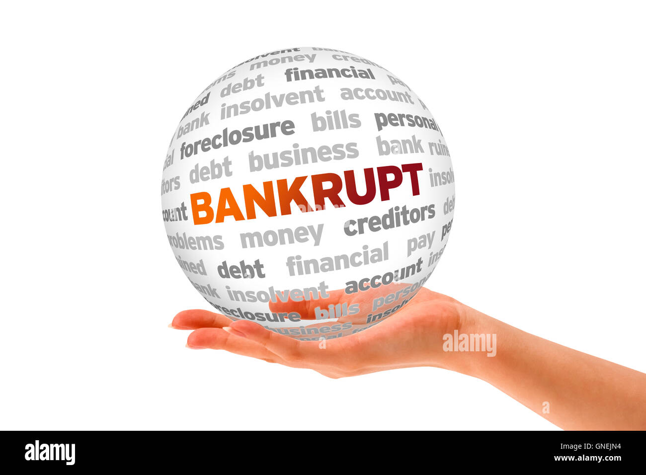In bancarotta Immagini Stock