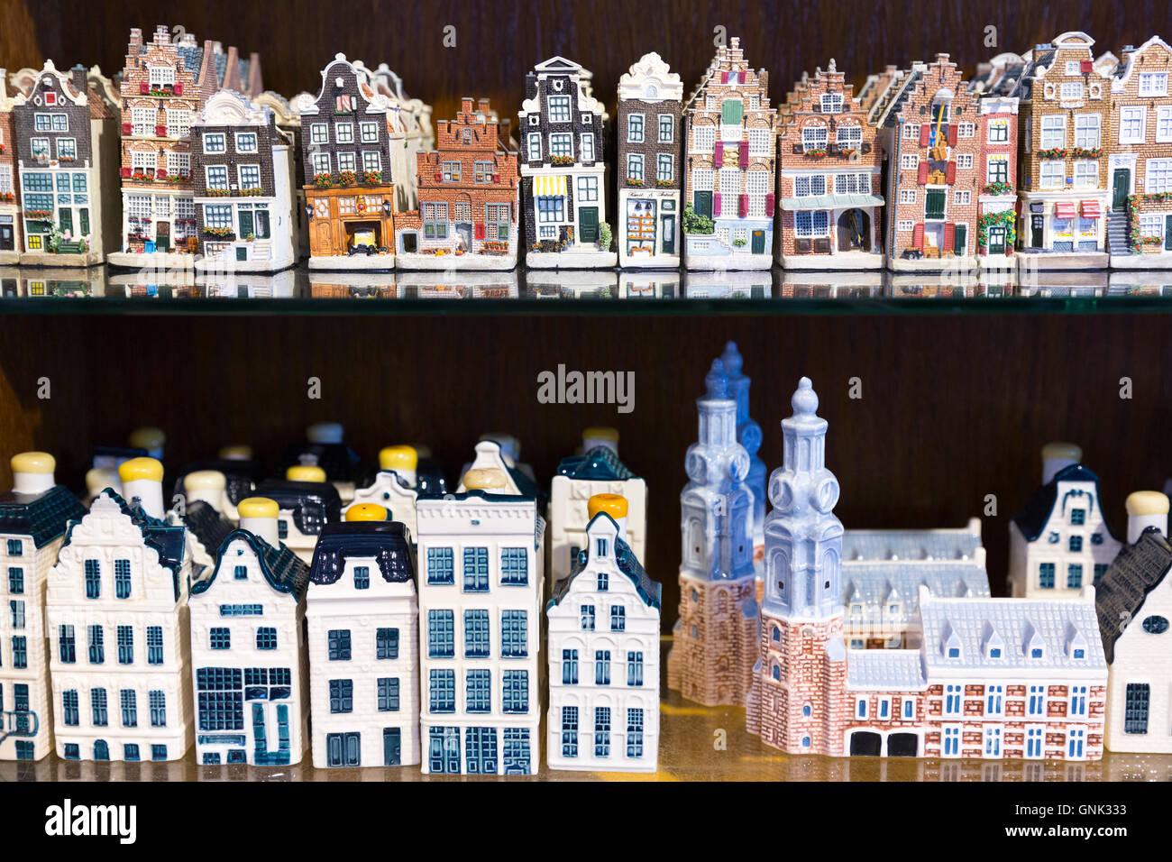 Vendita Case In Olanda tradizionale cinese pittoresco ceramica case dipinte in