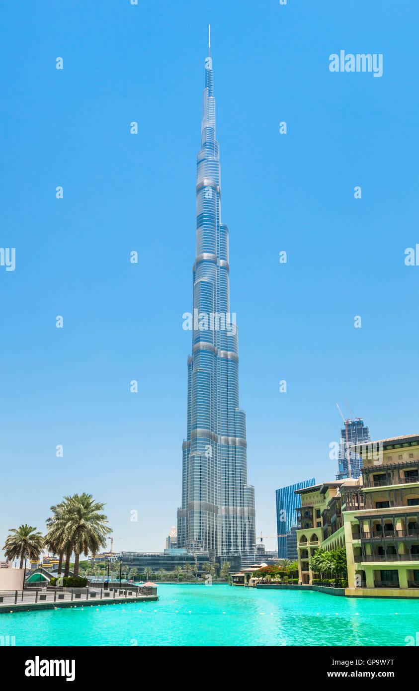 Dubai Burj Khalifa, città di Dubai, Emirati Arabi Uniti, Emirati arabi uniti Immagini Stock