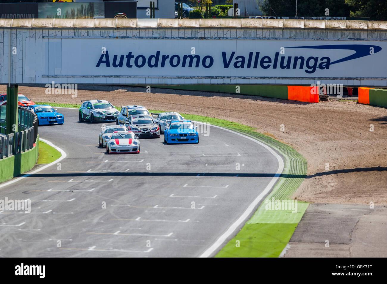Circuito Vallelunga : Automobilismo carrera cup iaquinta prova a stupire a vallelunga