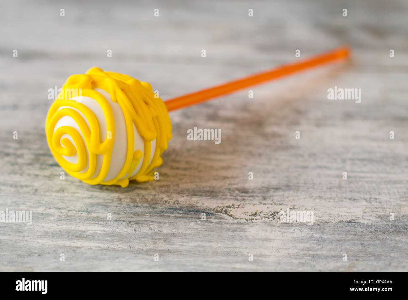 Candy su un bastone. Immagini Stock