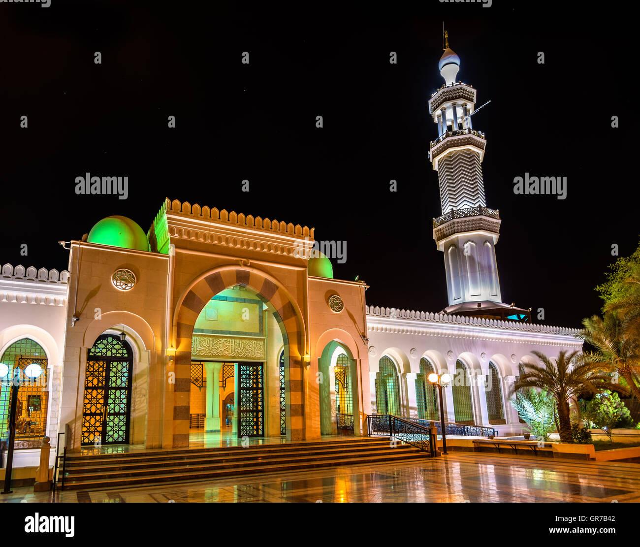 Sharif Hussein Bin Ali moschea in Aqaba Immagini Stock