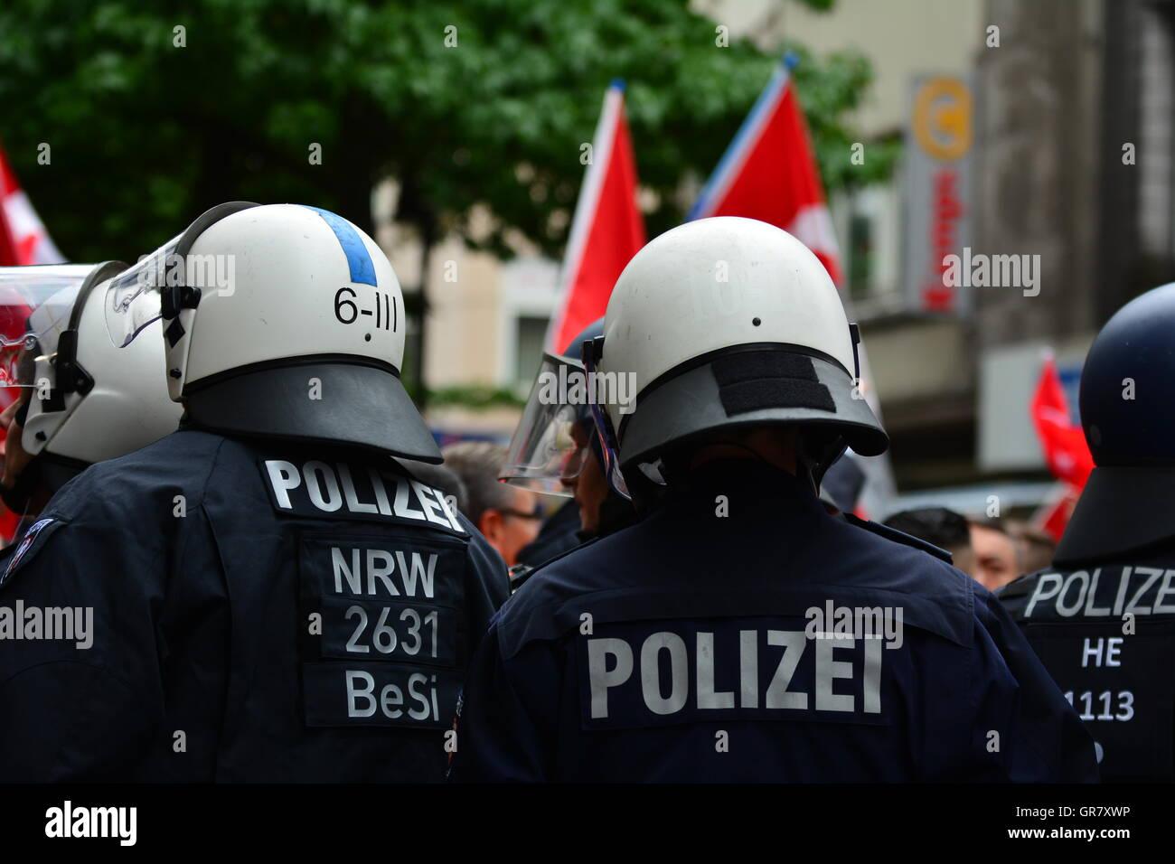 Polizia tedesca Immagini Stock