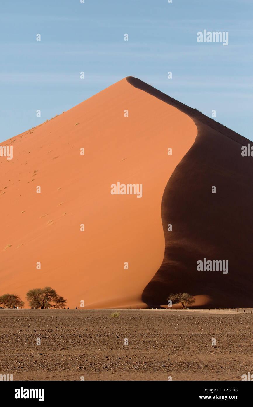Sossusvlei Namib-Naukluft, Namibia, Agosto 2016 Immagini Stock