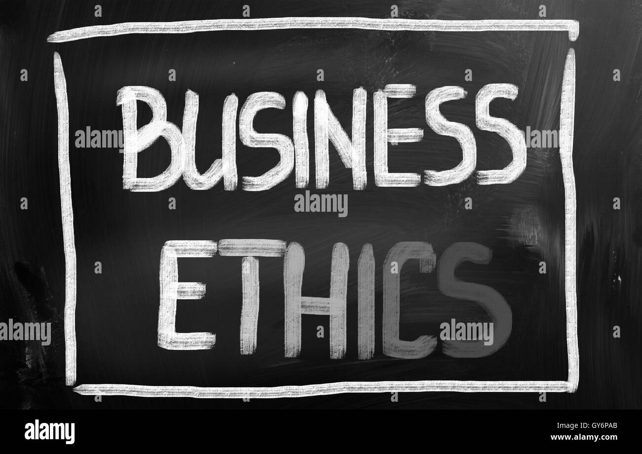 Business Ethics Concept Immagini Stock