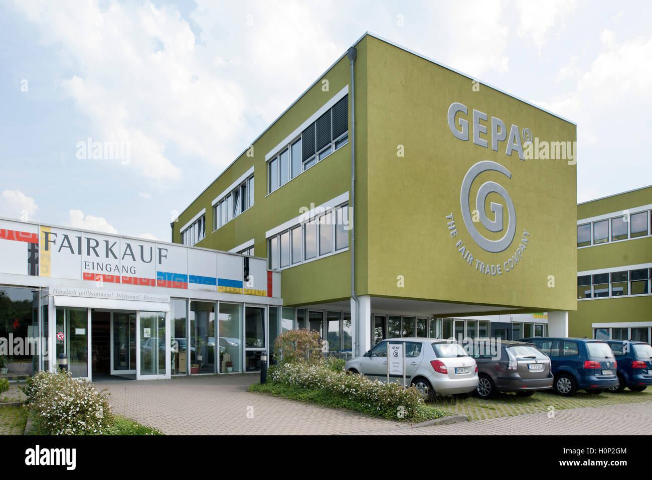 Deutschland, Renania settentrionale-Vestfalia, Wuppertal-Vohwinkel, la GEPA Fair Trade Company Immagini Stock