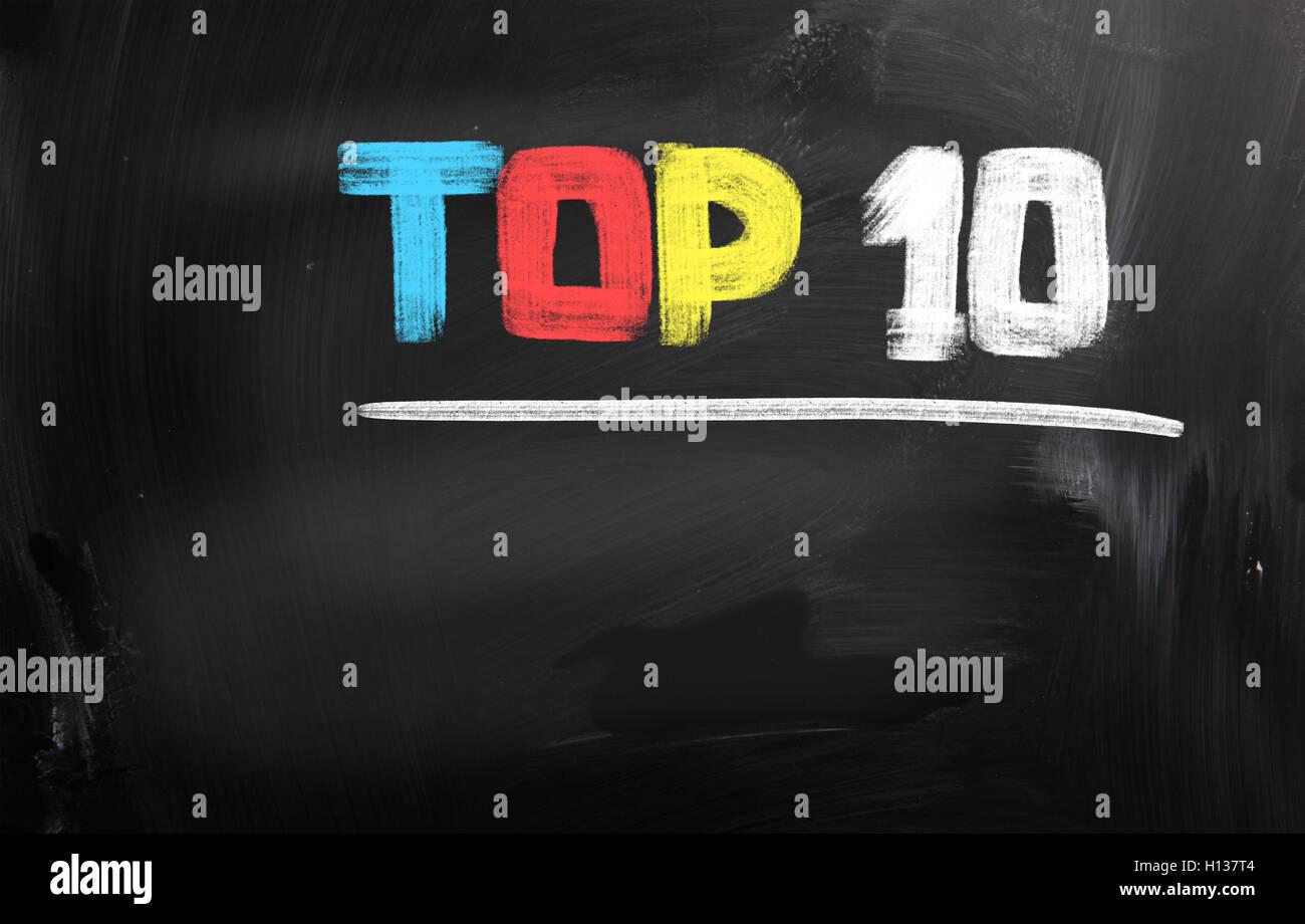 10 migliori Concept Immagini Stock