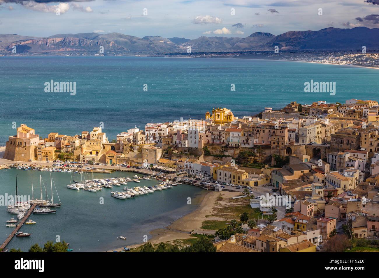 Sicilia, Italia Immagini Stock