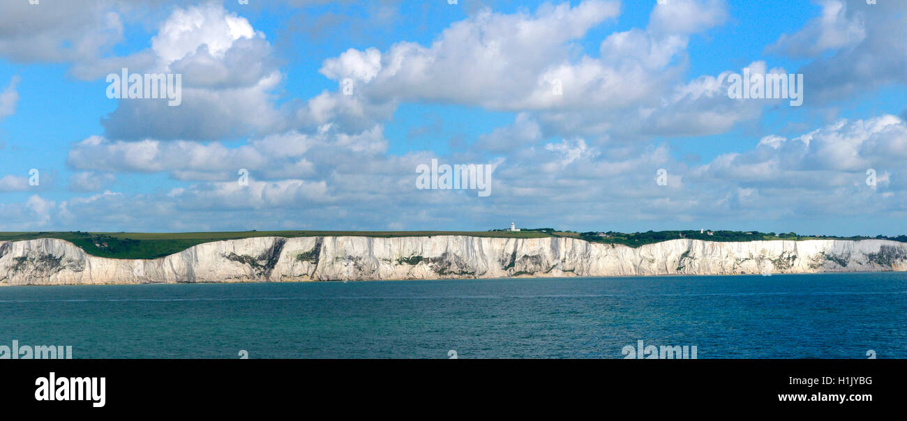 Kreidefelsen von Dover, Inghilterra, Grossbritannien Immagini Stock