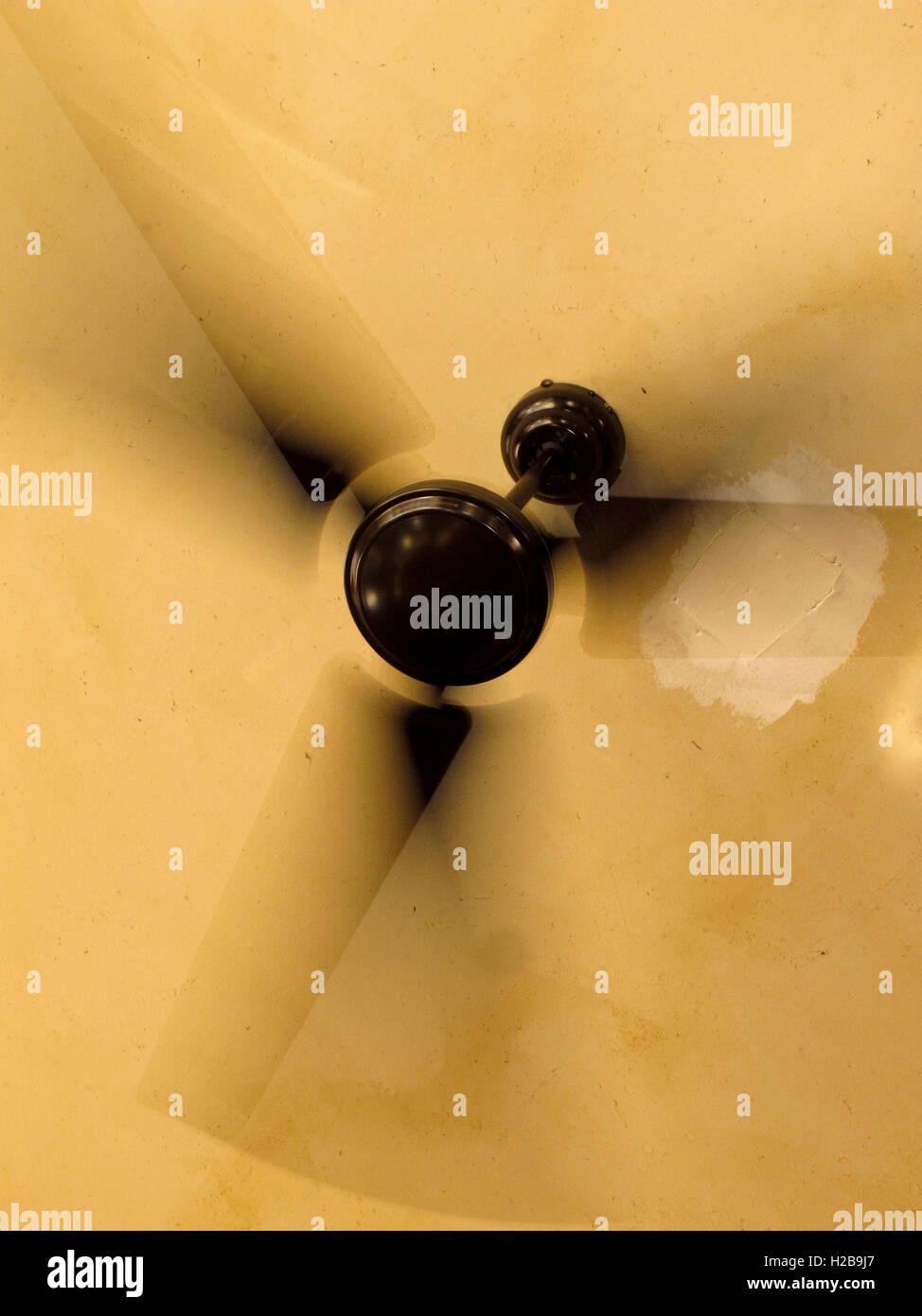 Ventilatore da soffitto. Praga Immagini Stock