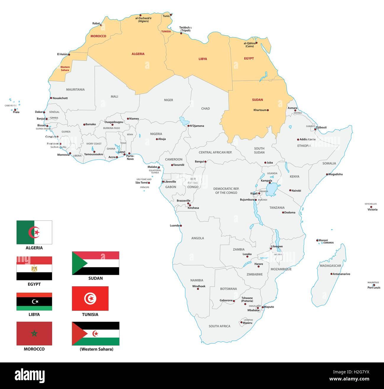 Cartina Africa Del Nord.Mappa Africa Immagini Mappa Africa Fotos Stock Alamy
