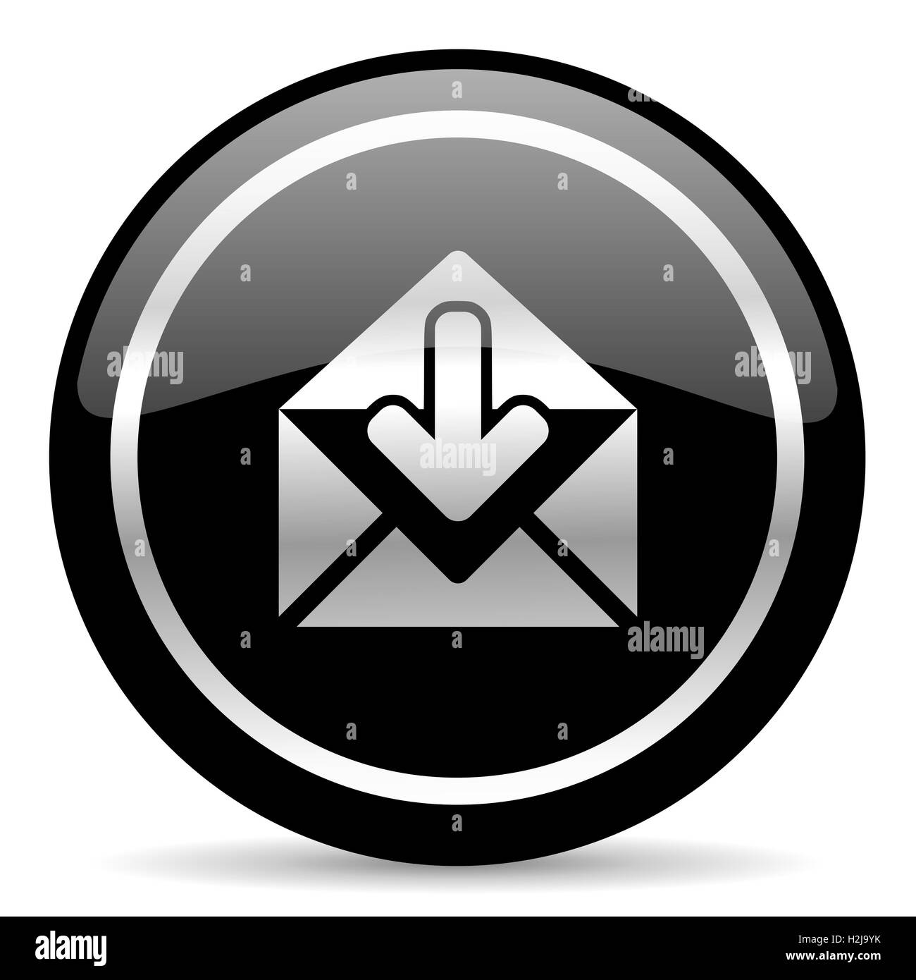icona della posta Immagini Stock