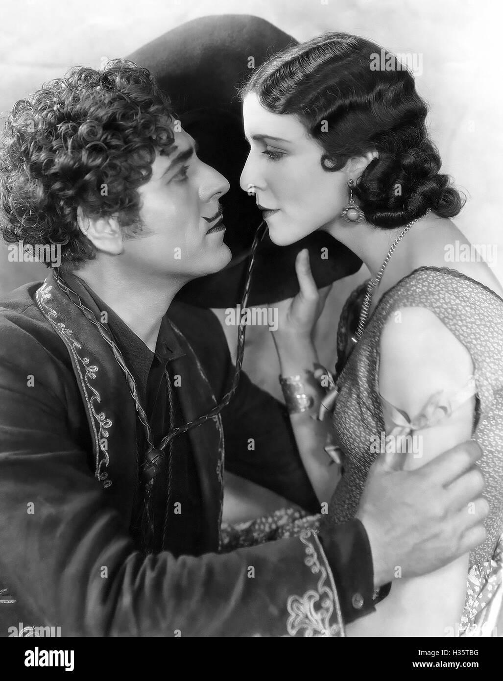 La Arizona KID 1930 Fox Film Corporation produzione con Mona Maris e Warner Baxter Immagini Stock