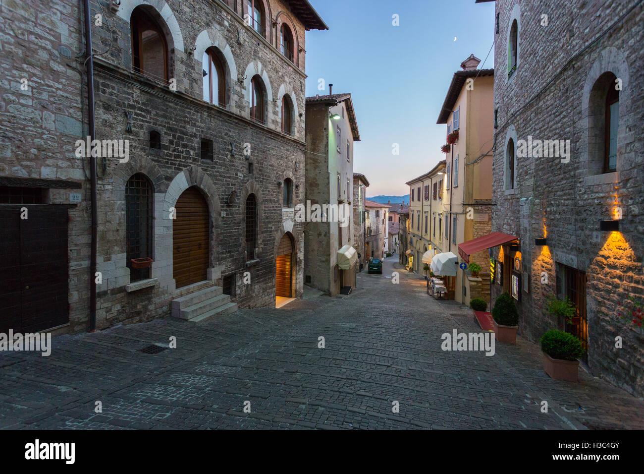 Gubbio - Umbria - Italia Foto Stock
