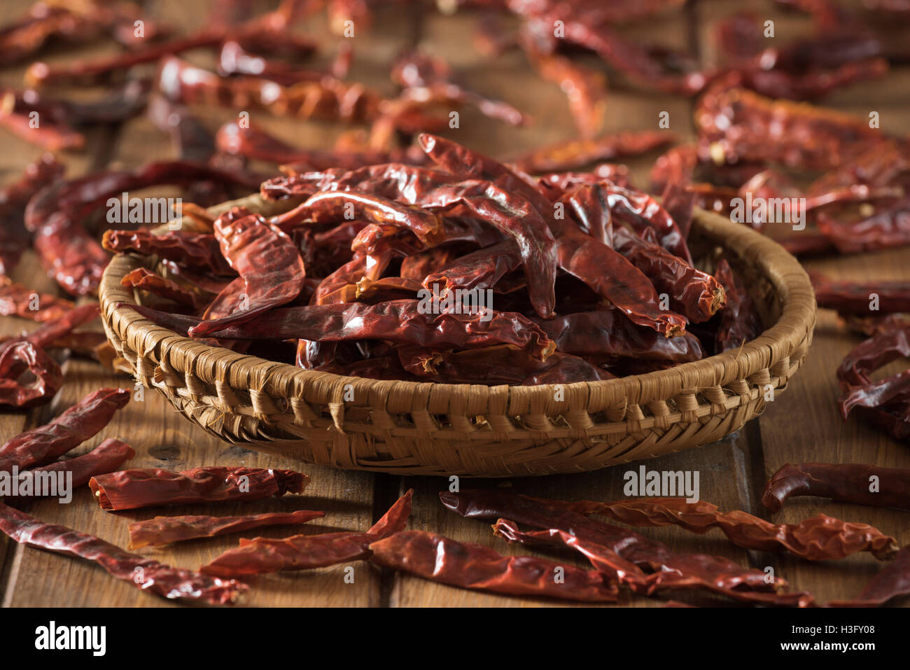 Peperoncini del Kashmir Immagini Stock