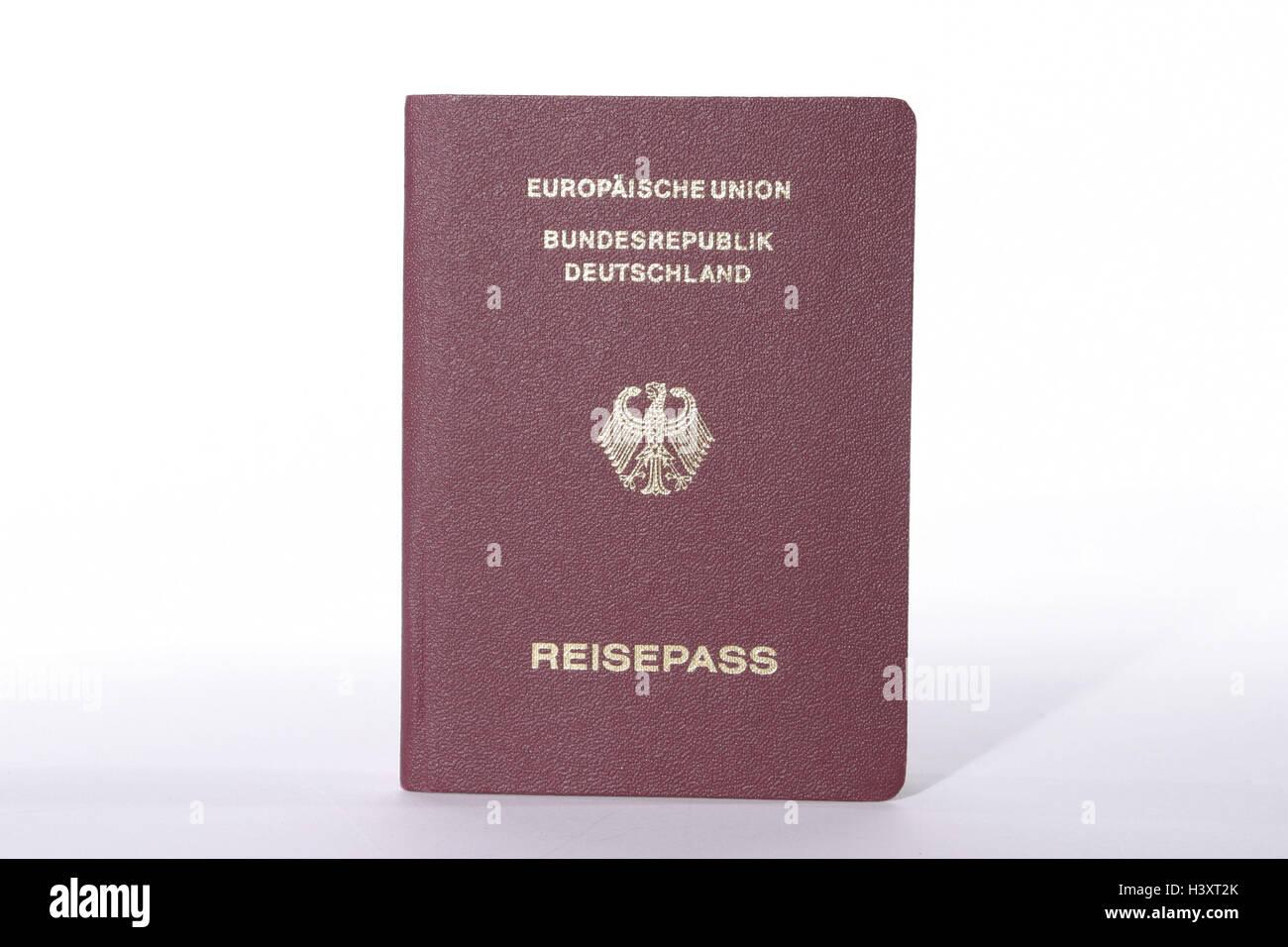 Passaporto, in tedesco, Europa, Germania, Comunità europea, vacanze ...
