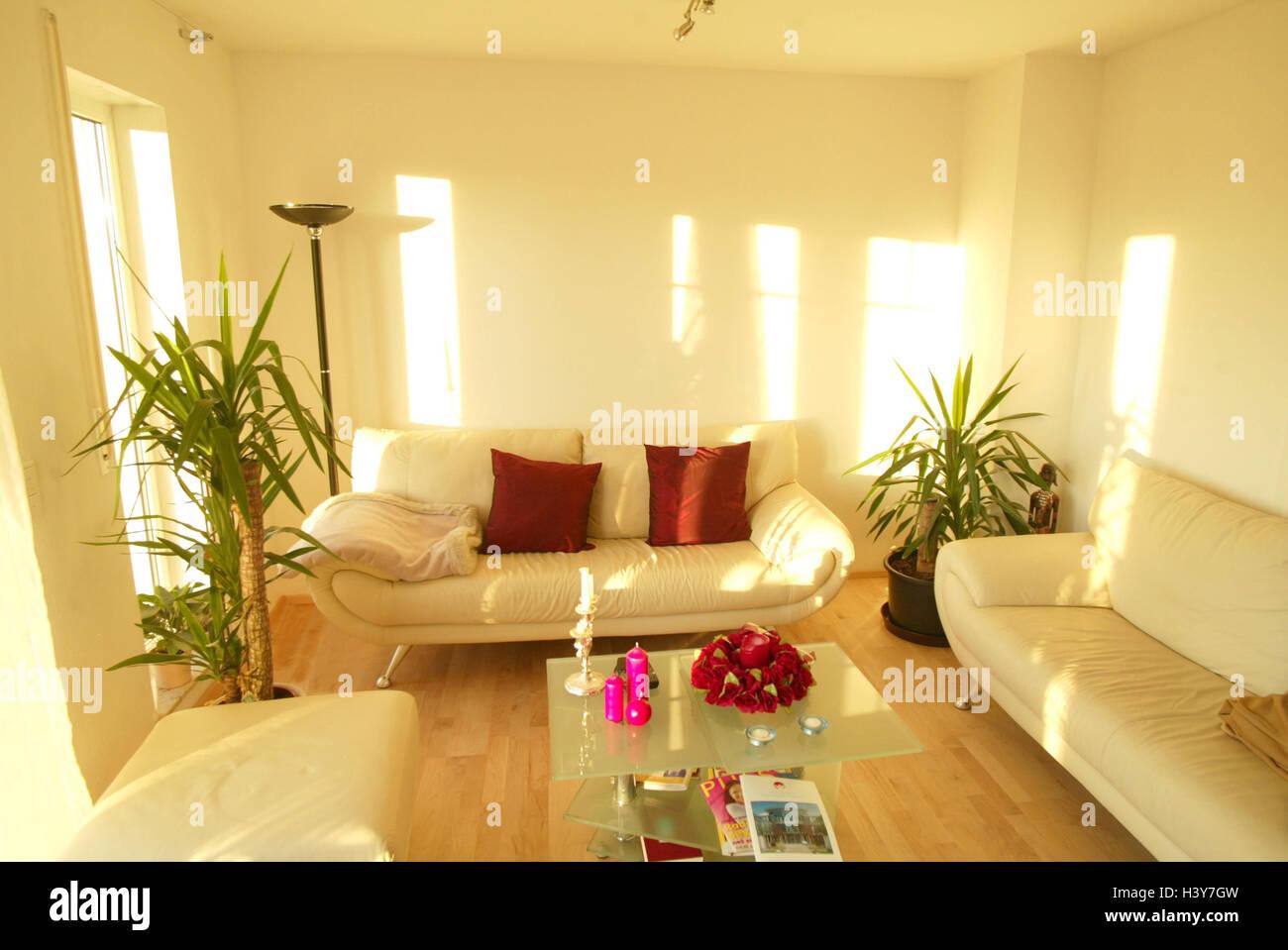 Salotti Moderni Rossi : Camere salotto setup moderno tavolo di vetro allinterno a casa