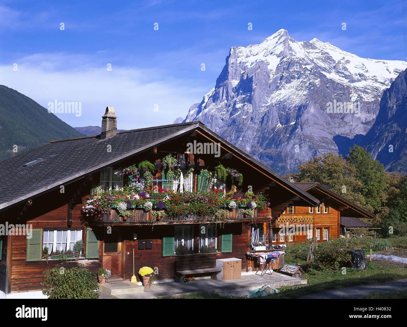 Decorazioni Per Casa Montagna : La svizzera loberland bernese grindelwald agriturismo meteo
