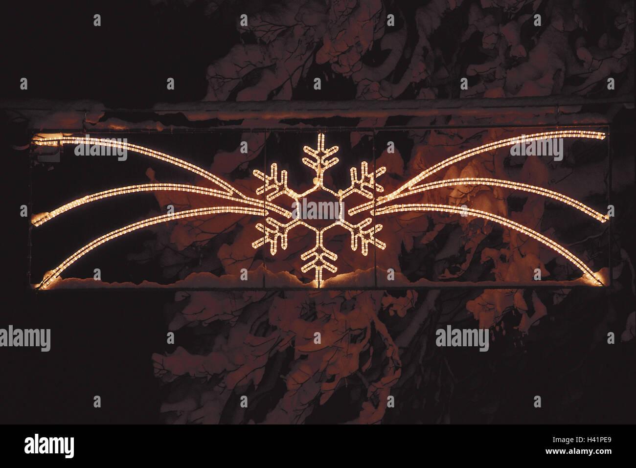Stella Di Natale Luce.Luci Di Natale Luce Bow Stella La Sera Di Natale Strada Le Luci