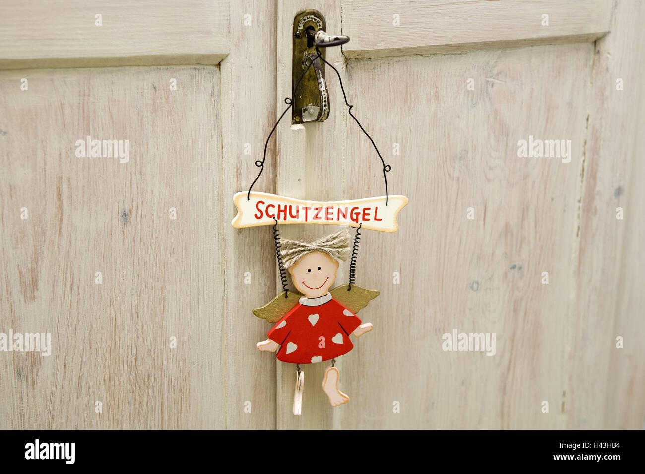Credenza Con Serratura : Armadio in legno chiave angelo custode hang credenza