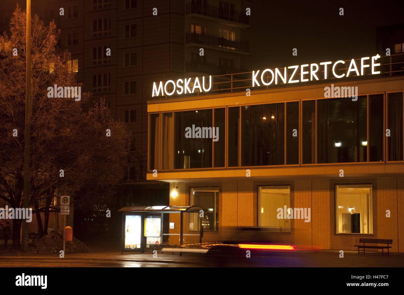 Germania berlino mosca concerto cafe notte architettura all
