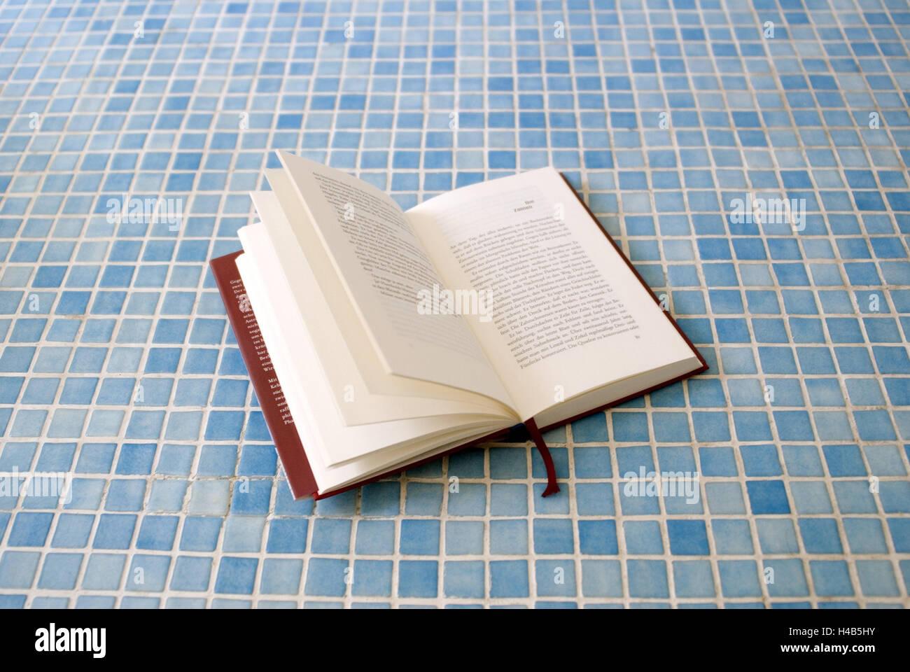 Prenota apertamente pavimento a mosaico blu bagni bagno