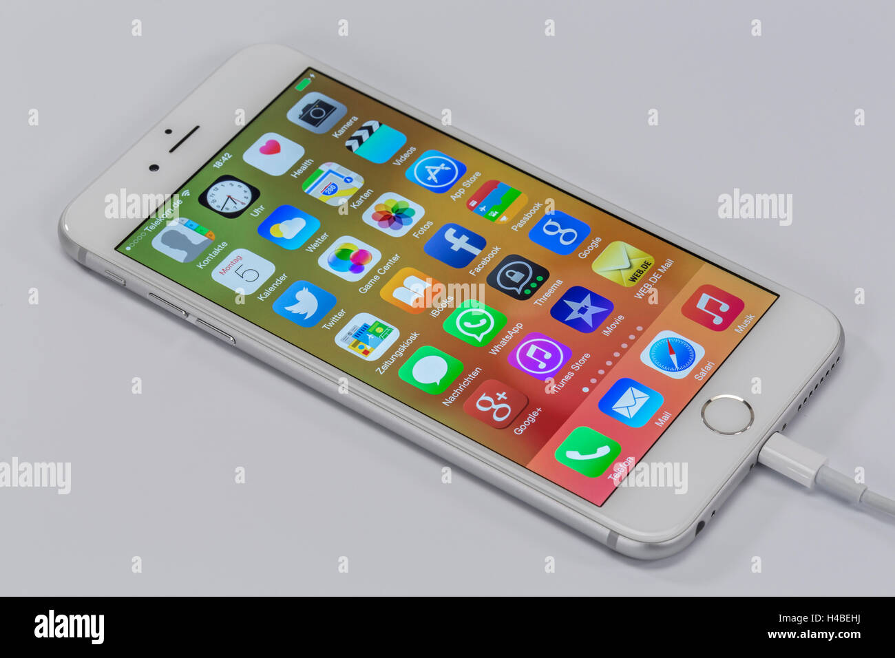 Apple Iphone 6 Plus Fulmine Il Connettore Cavo Usb Display