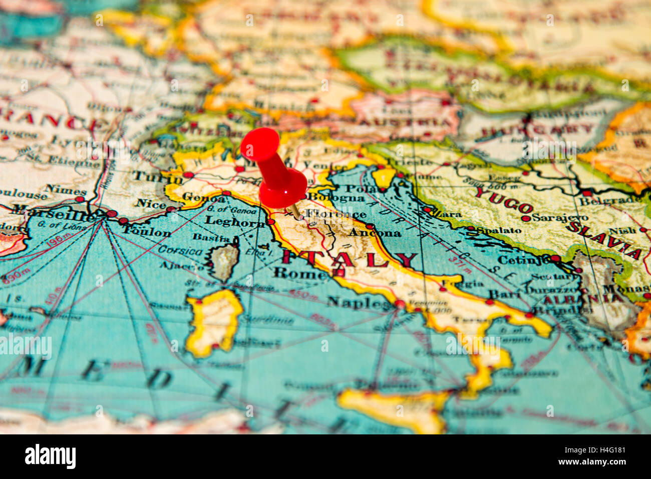 Cartina Italia Pisa