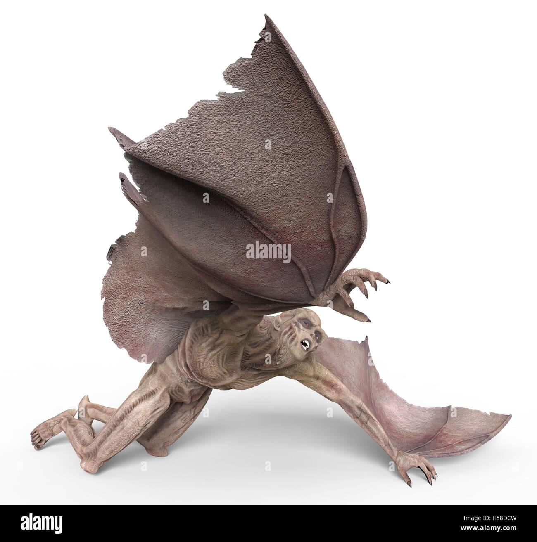 Vampire 3D illustrazione Immagini Stock
