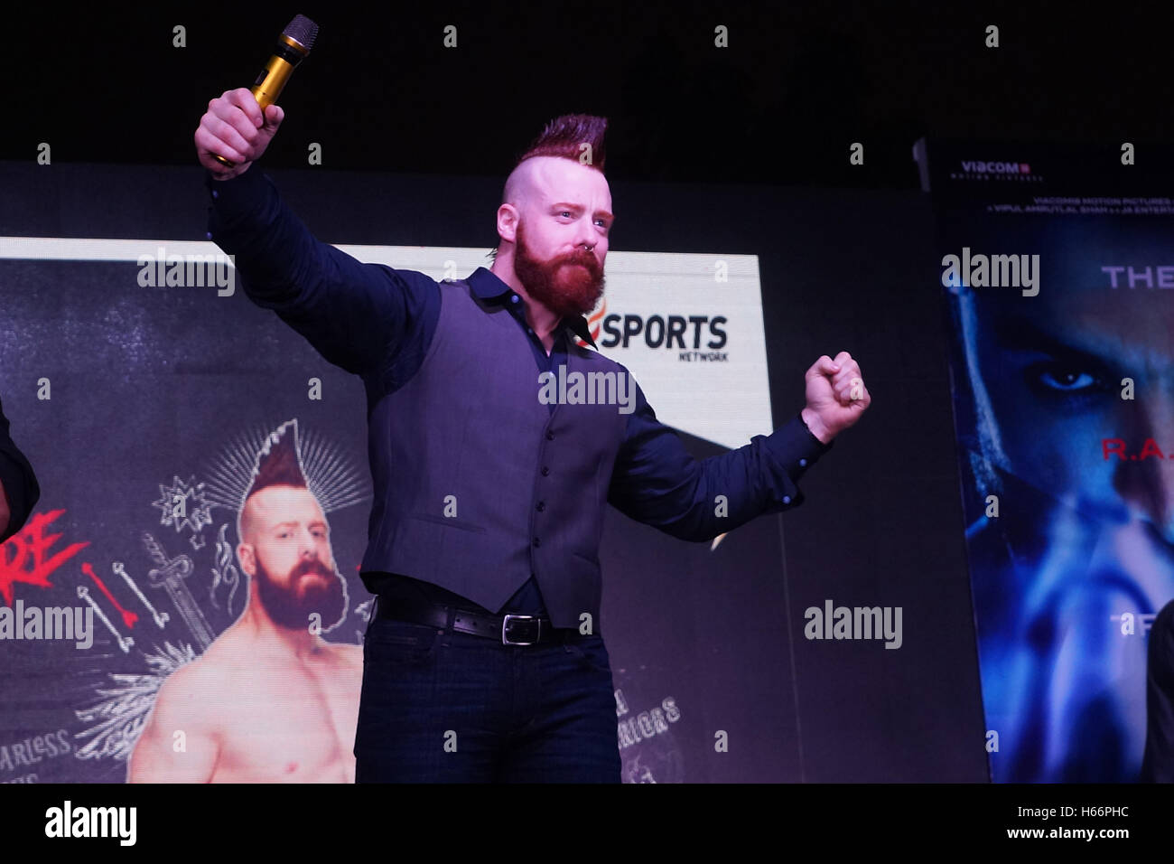 Wrestler Sheamus Immagini Stock