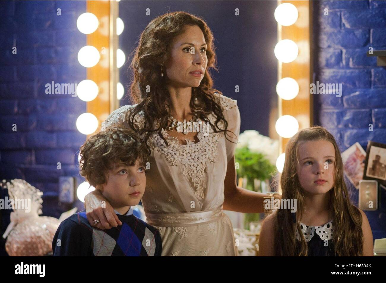 MINNIE DRIVER Stage Fright (2014) Immagini Stock