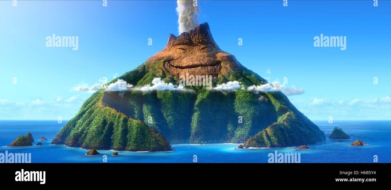 Vulcano di lava (2014) Immagini Stock