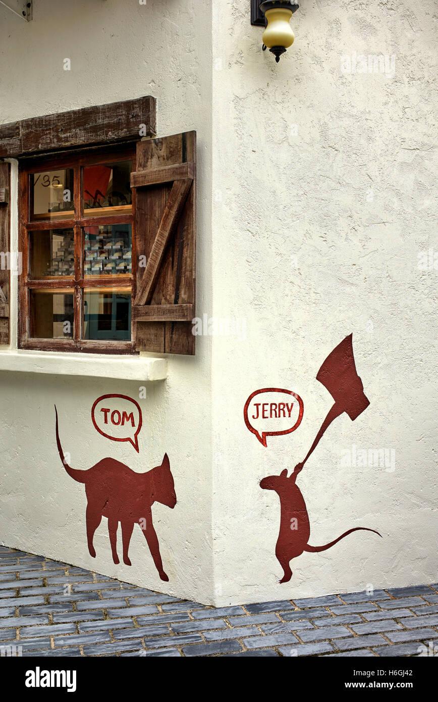 Amici animali finti e famosi tom jerry