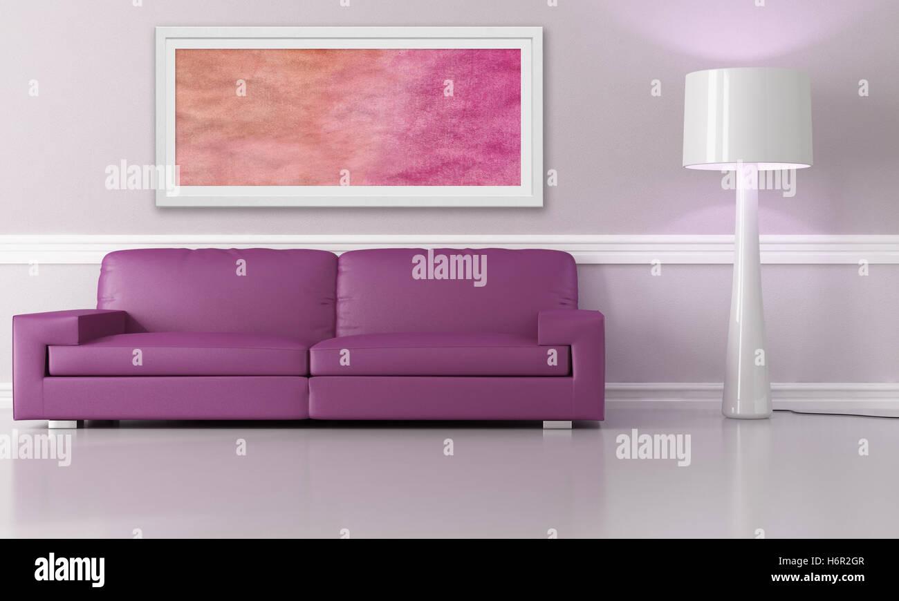 Stili Di Arredamento Interni.Arredamento Interno Divano A Parete Soggiorno Living Room Design