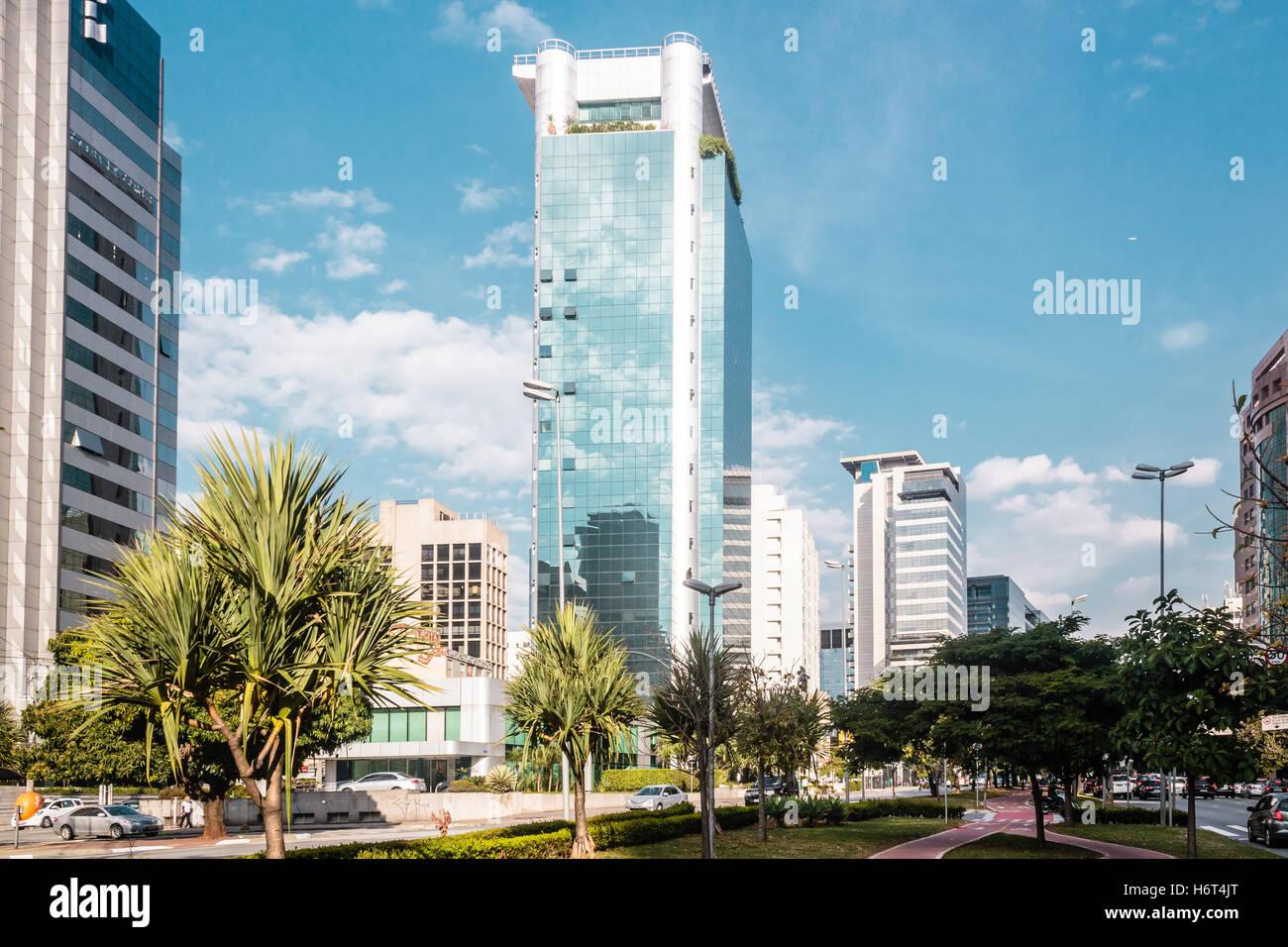 Foto di edifici e strade di Sao Paulo, Brasile (Brasile) Immagini Stock