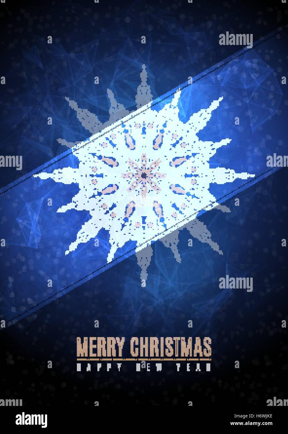 Auguri Di Buon Natale Eleganti.Auguri Di Buon Natale Felice Anno Nuovo Fantasia Inverno Oro