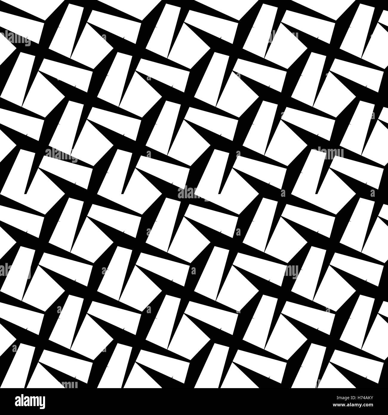 Disegni Geometrici Bianco E Nero abstract in bianco e nero disegno geometrico. perfettamente