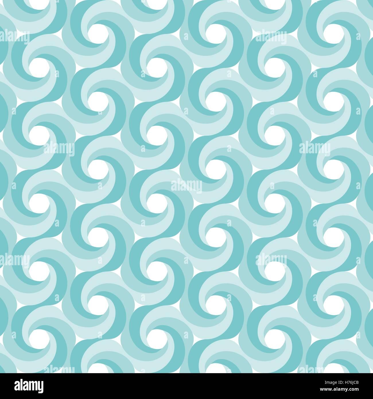 Illustrazione dello sfondo con abstract forme geometriche Immagini Stock