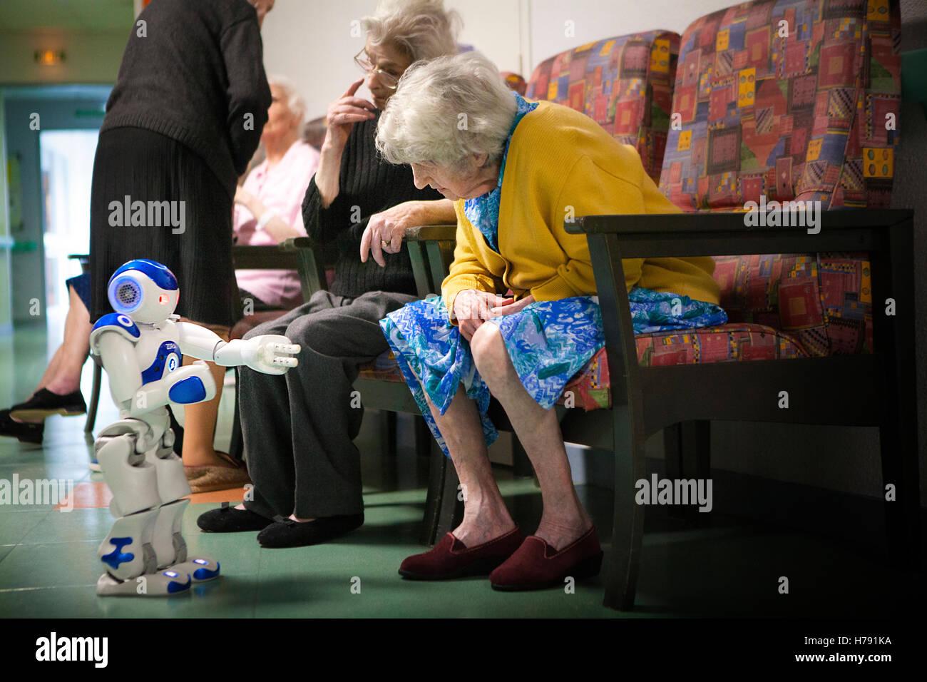 ROBOT DI ZORA Immagini Stock