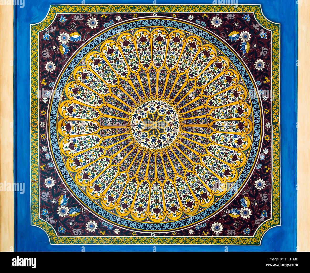 Il Marocco,lavoro di piastrelle Immagini Stock