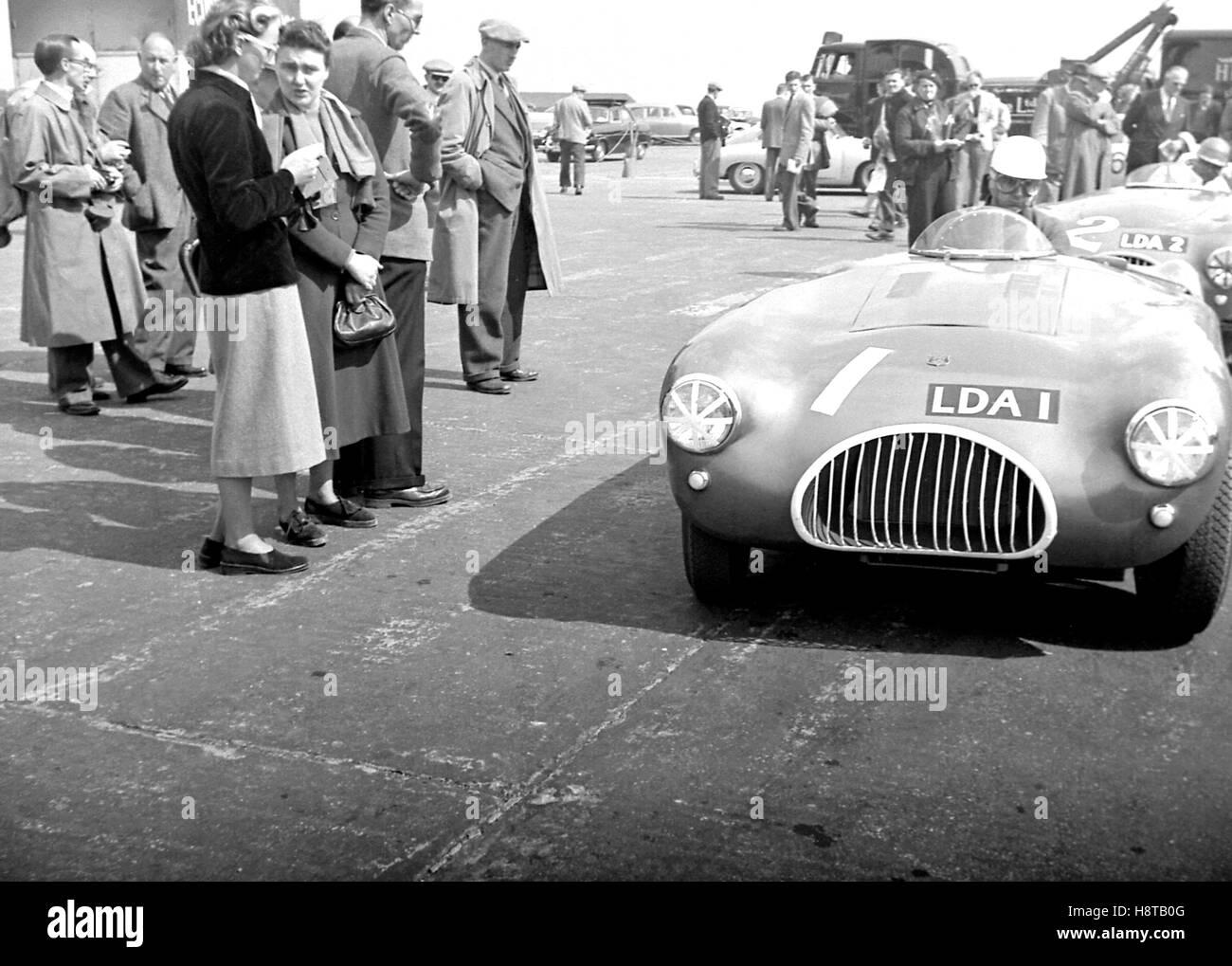 1954 SILVERSTONE KIEFT SEDILE CENTRALE auto sportive Immagini Stock