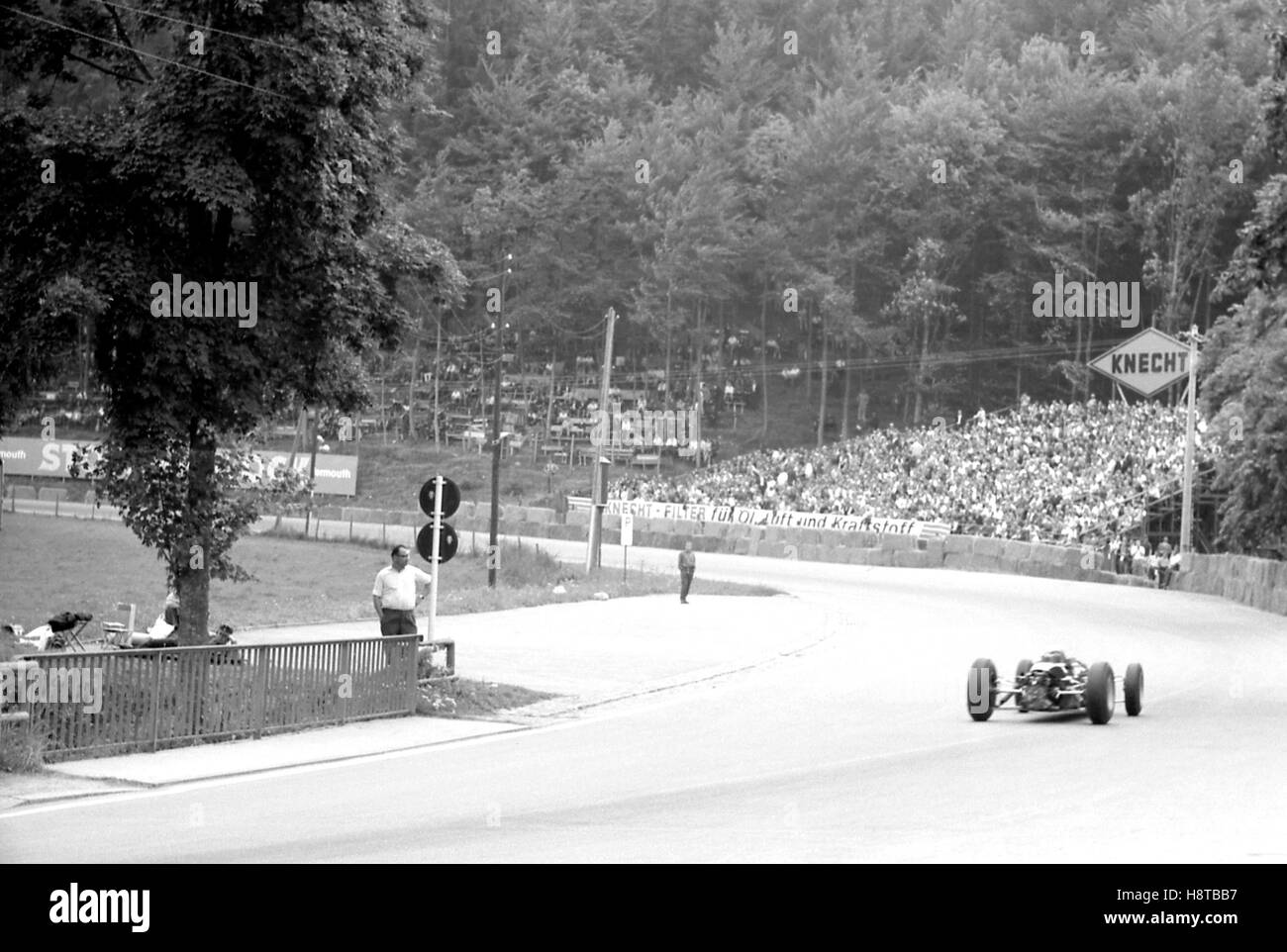 1963 solitudine GP CLOTUS 25 Panorama Immagini Stock